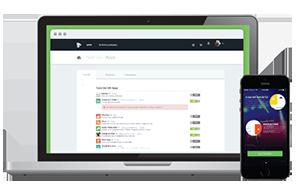 Mevato Social Marketing Display Dashboard